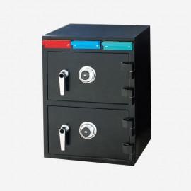 Kasafortë e depozitave me cilësi të mirë me bllokim mekanik për përdorim bankar
